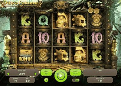 tragamonedas online diego fortune gameplay
