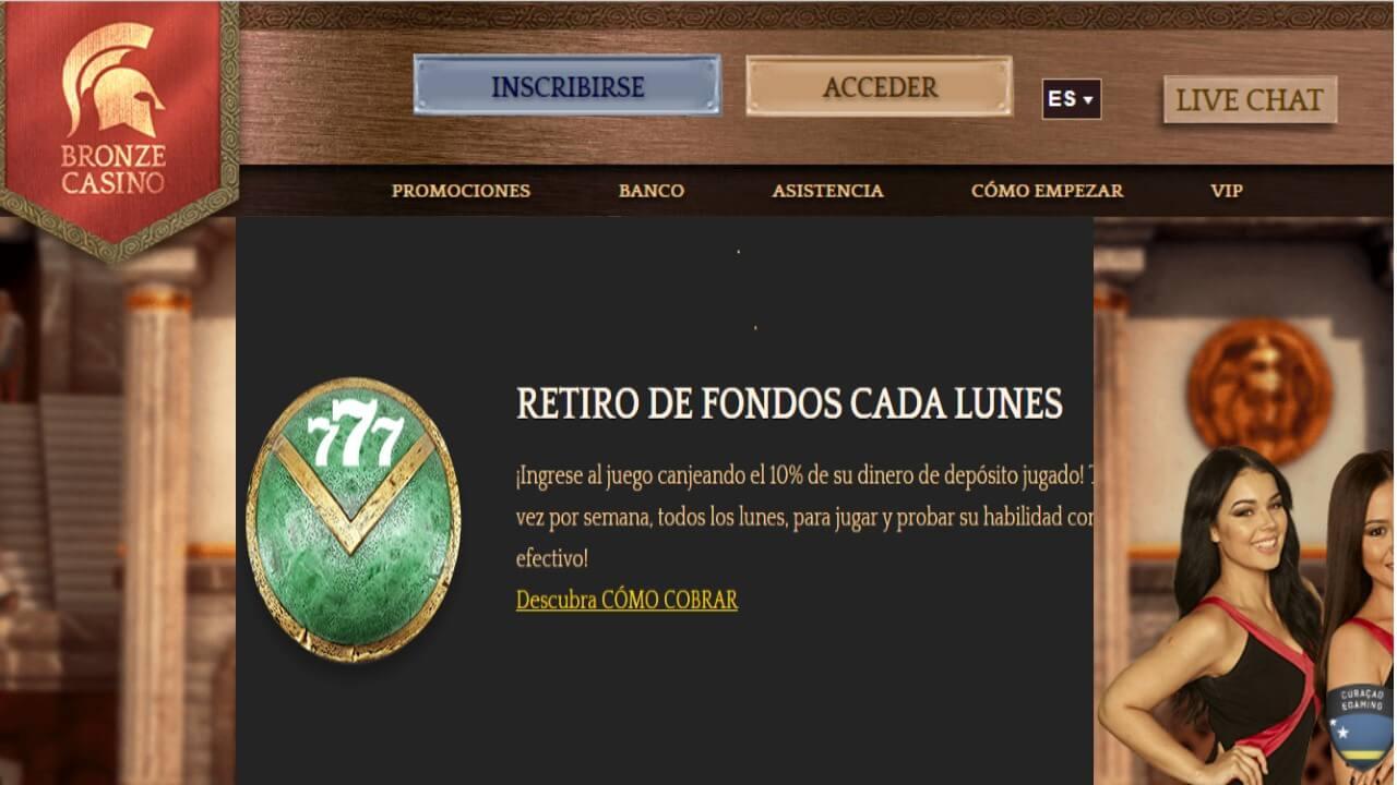 http://www.ruleta-gratis.info/bonos-de-reembolso-del-10-por-retiros-los-lunes-bronze-casino/