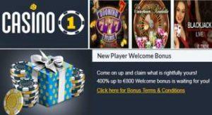 Bono de bienvenida por 800 euros Casino 1