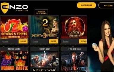 Giros gratis hasta por 100 euros Enzzo Casino