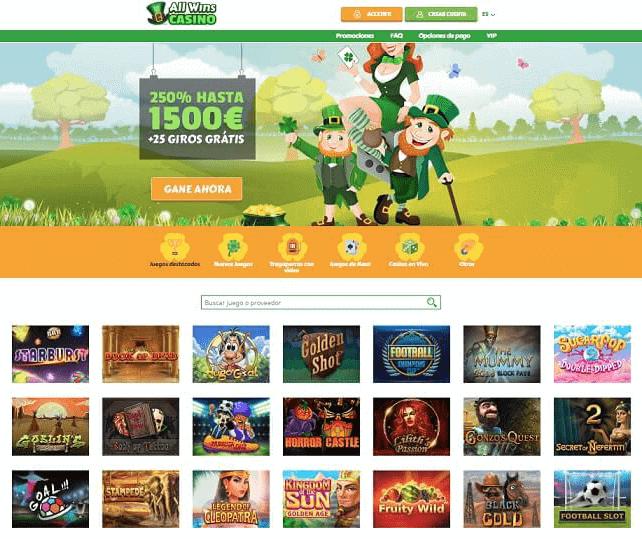 allwins casino juegos