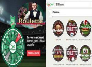 Apuesta segura Casino Paf entrega 35 giros gratis y 20 euros