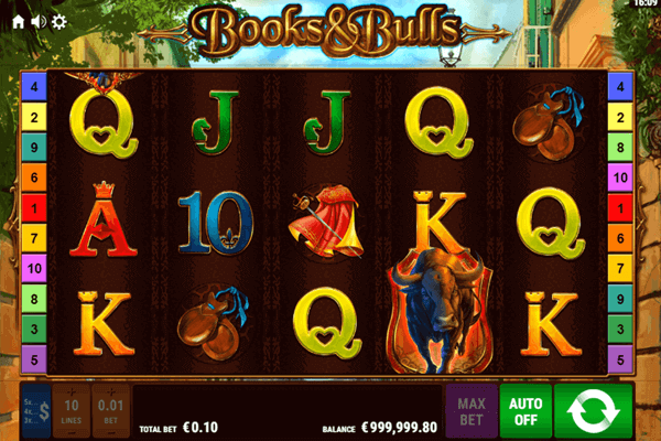 slots Books and Bulls