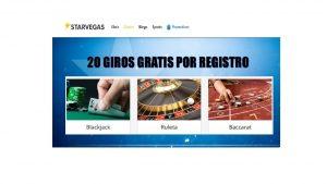 Casino Starvegas tiene hasta 20 giros gratis por registro