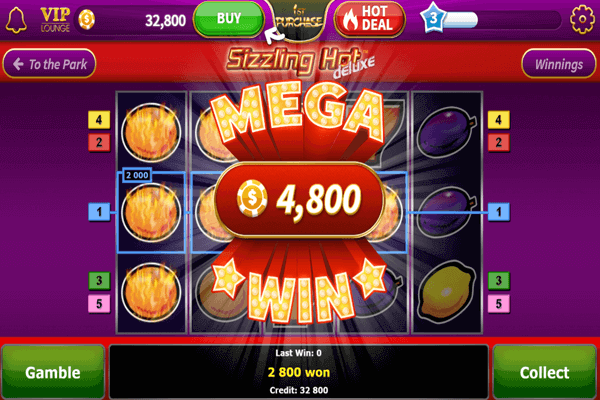 slots Sizzling Hot Deluxe