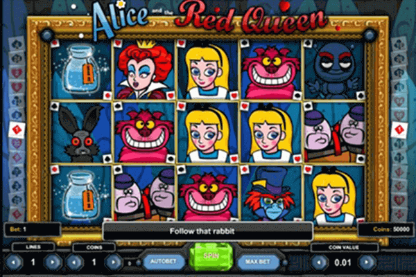Alice and the Red Queen tragamonedas
