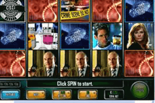 tragamonedas CSI Crime Scene Investigation