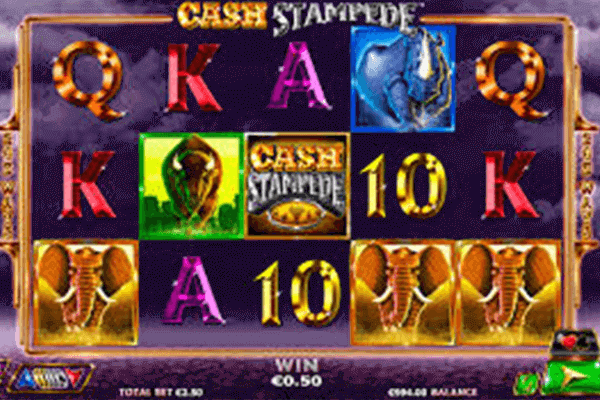 Cash stampede tragamonedas