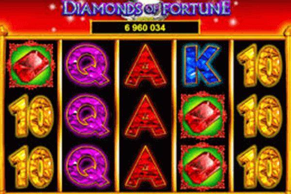 Diamonds of Fortune tragamonedas