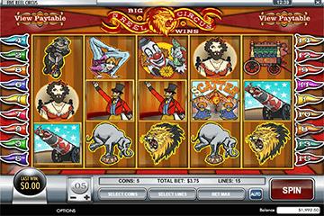 slot 5 Reel Circus