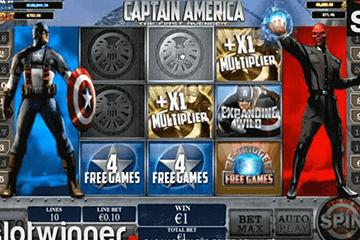 tragamonedas Captain America
