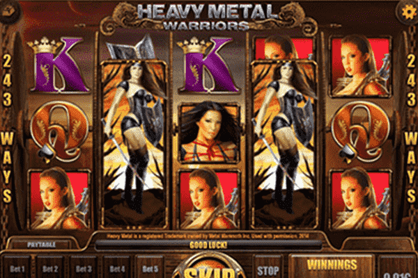 slot Heavy Metal Warriors