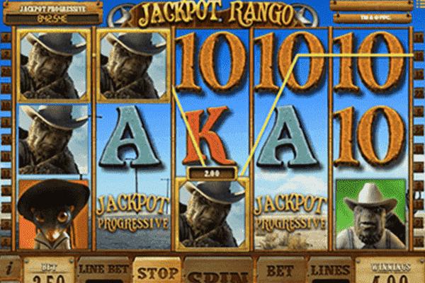 slot Jackpot Rango