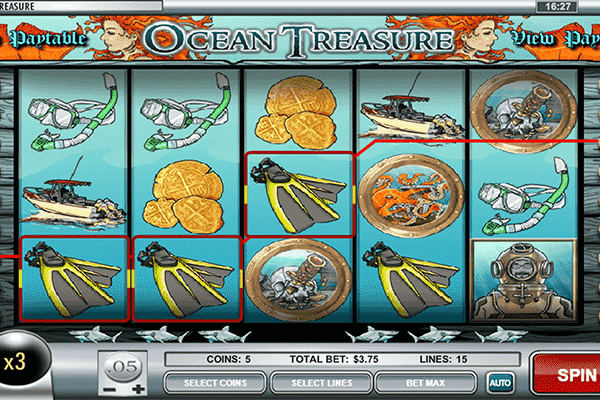 slot Oceans Treasure