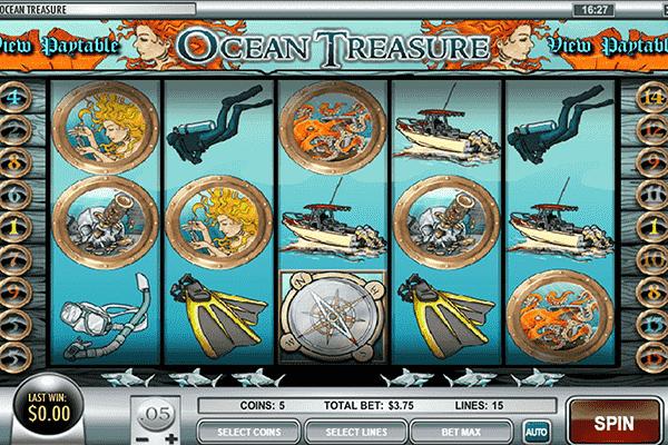tragamonedas Oceans Treasure