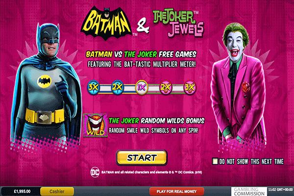 tragamonedas Batman y Joker