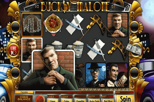 Bucksy Malone tragamonedas
