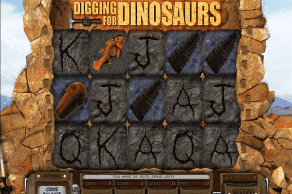 tragamonedas Digging for Dinosaurs