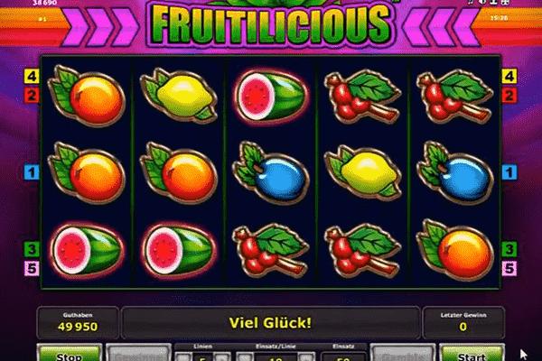 tragamonedas Fruitilicious