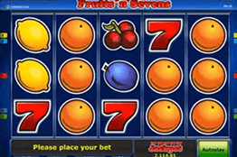 Fruits N Sevens tragamonedas