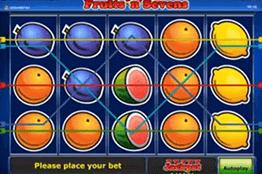 tragamonedas Fruits N Sevens