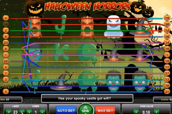 tragamonedas Halloween Horrors