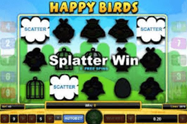 Happy Birds tragamonedas