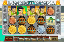 Legends of Olympia tragamonedas