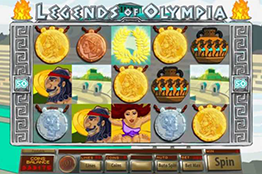 tragamonedas Legends of Olympia