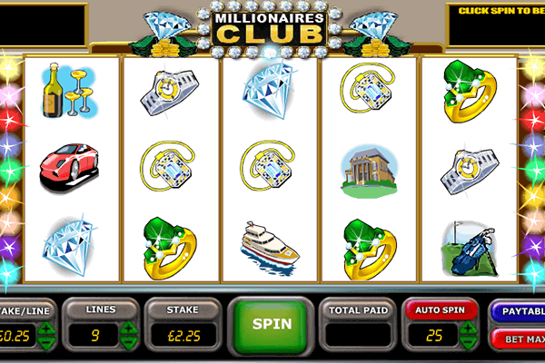 slot Millionaire's Club