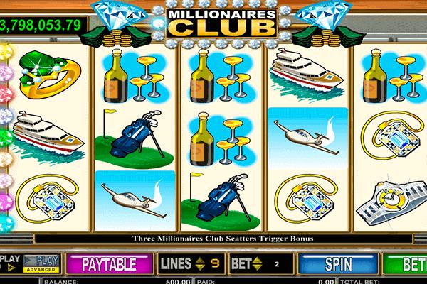 tragamonedas Millionaire's Club
