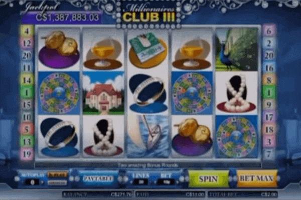 tragamonedas Millonaire's Club 3