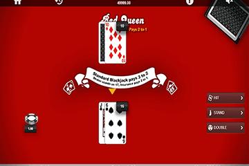 Red Queen Blackjack 1x2