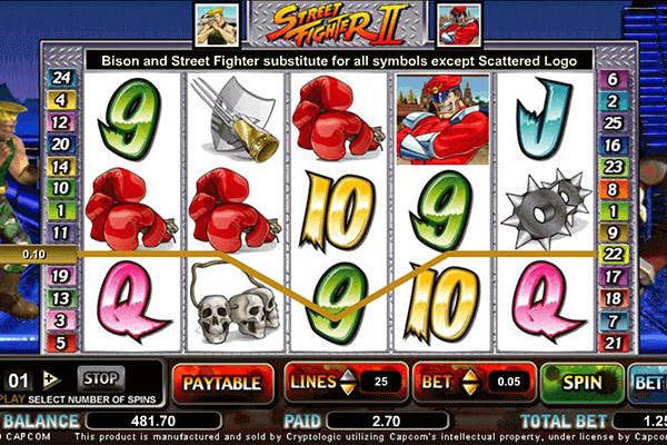 slot Street Fighter II
