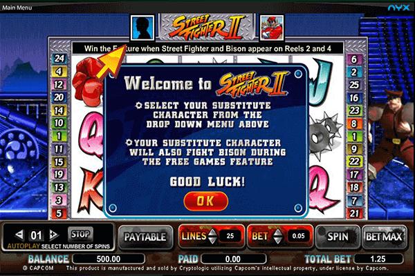 tragamonedas Street Fighter II
