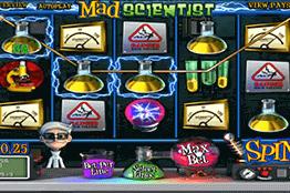 Mad Scientist tragamonedas
