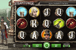 Steam Tower tragamonedas