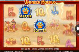 tragamonedas Wonder Hounds