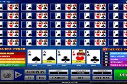 25x Deuces Poker tragamonedas