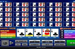 tragamonedas 25x Deuces Poker