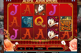 Alice Adventure tragamonedas