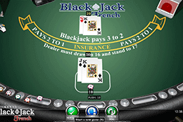 Blackjack French tragamonedas