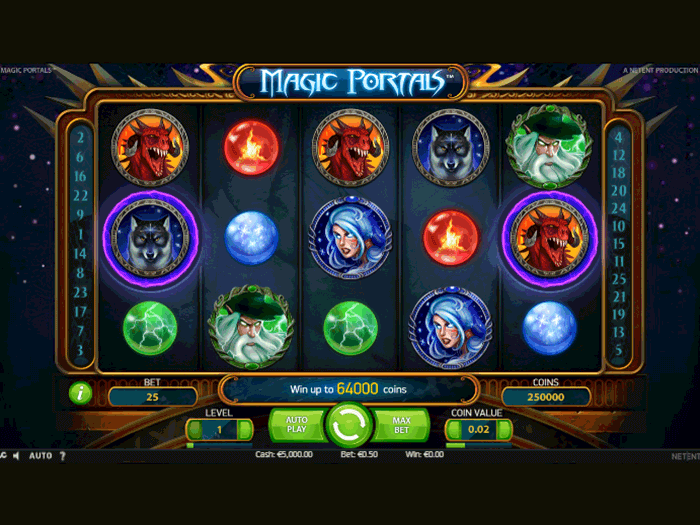 tragamonedas magic portals iframe