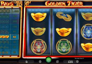 Tragamonedas Golden Tiger