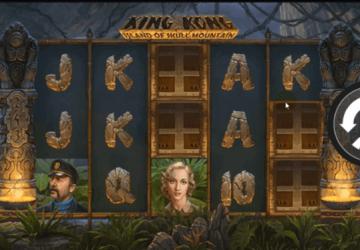 Tragamonedas King Kong Island of Skull Mountain