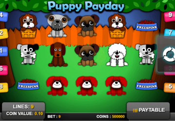 Tragamonedas Puppy PayDay
