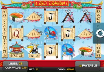 Tragamonedas Red Dragon
