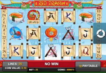 Slot Red Dragon