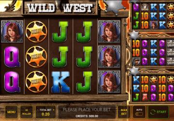 Tragamonedas Wild West