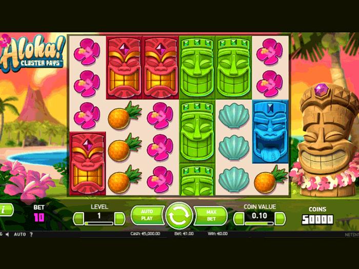 tragamonedas aloha cluster pays iframe